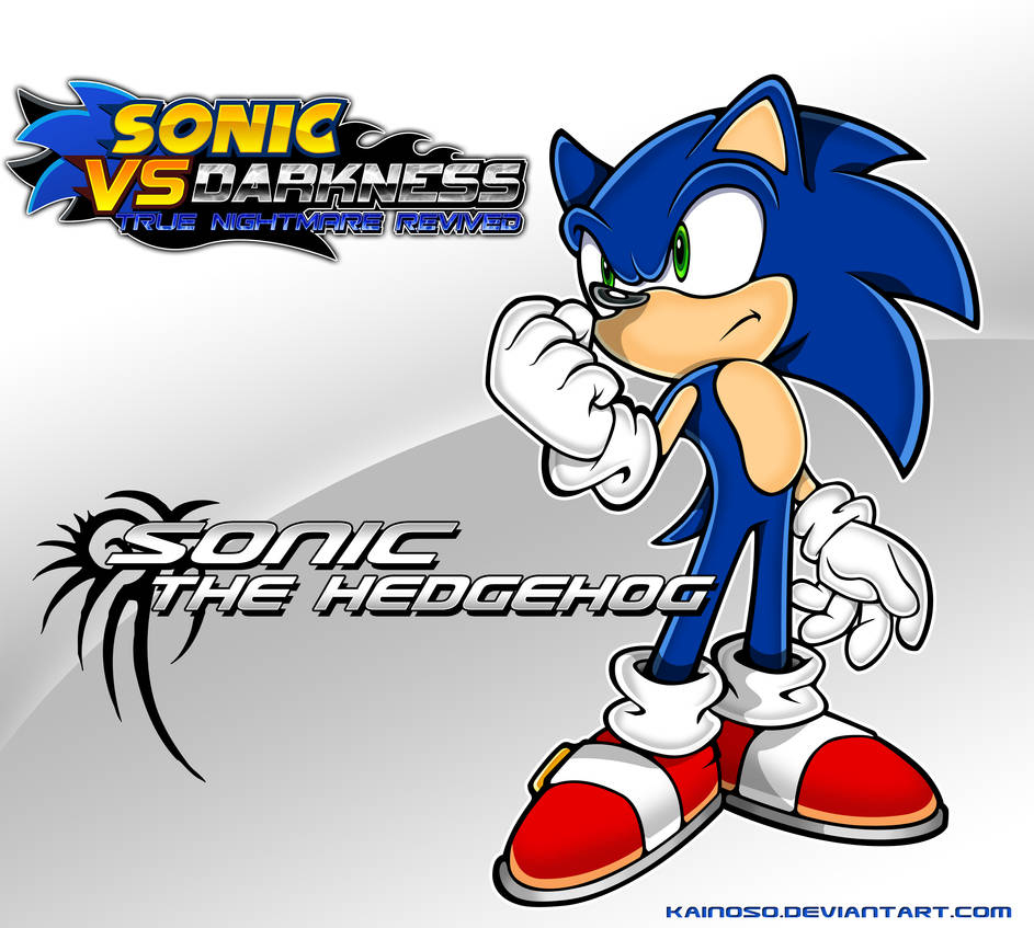 Sonic vs Darkness - Sonic the Hedgehog Poster by Kainoso
