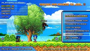 (Sonic vs Darkness) Online Multiplayer Lobby by Kainoso
