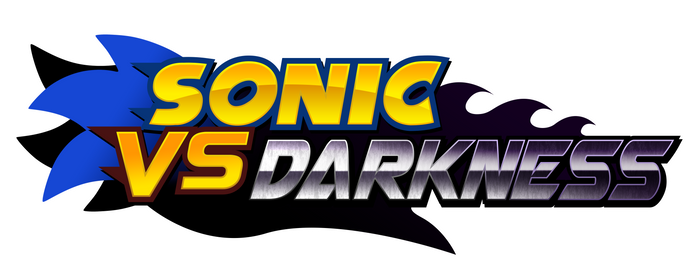 Sonic vs Darkness 'Official' Logo by Kainoso