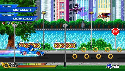 (Sonic vs Darkness) Metallic Streets Mockup
