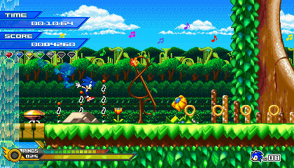 (Sonic vs Darkness) Melodic Forest Mockup