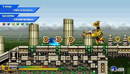 (Sonic vs Darkness) Mythic Falls Mockup by Kainoso