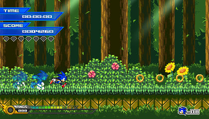 (Sonic vs Darkness) Tutorial Stage Mockup