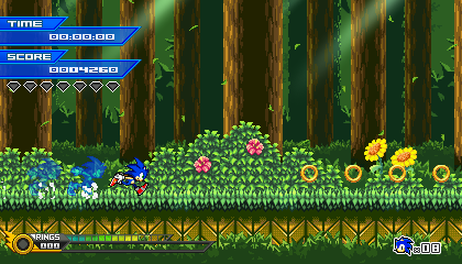 (Sonic vs Darkness) Tutorial Stage Mockup by Kainoso