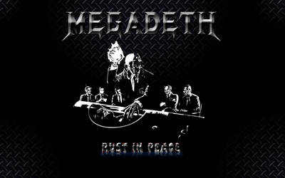 Megadeth Rust in Peace RiP WP by zenicanin