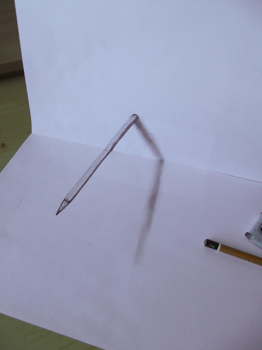3d Pencil By Mishice On Deviantart