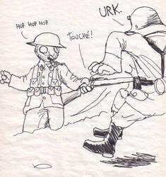 Jab it in by DoodleWarfare
