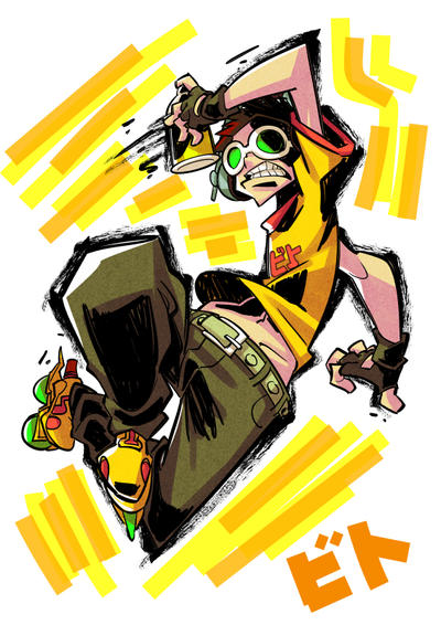 Jet Set Radio fanart : Beat by Rafchu
