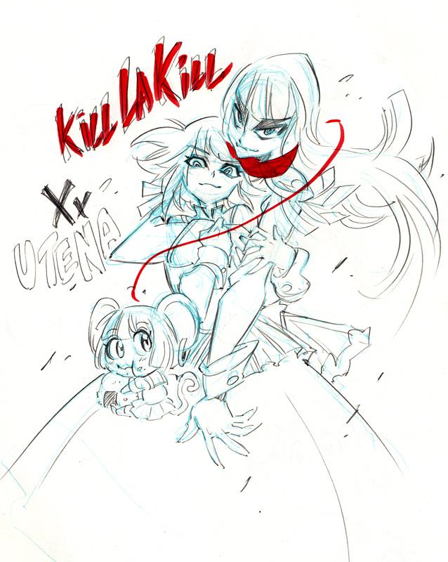 Crossover Kill la Kill Utena by Rafchu