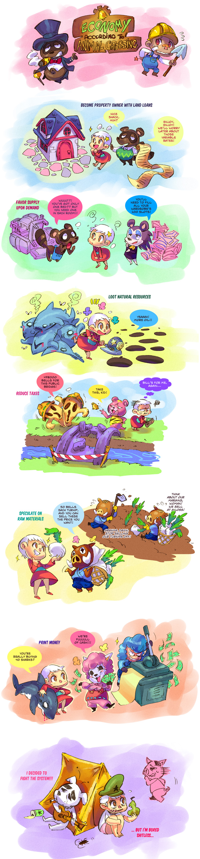Animal Crossing Economy lessons by Rafchu