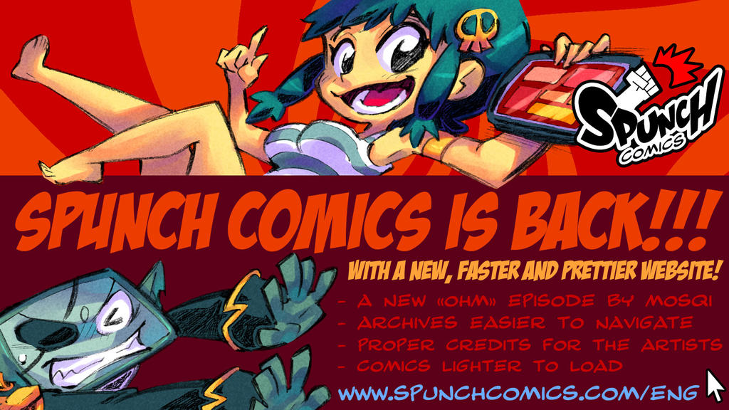 Spunch Comics is back!! by Rafchu