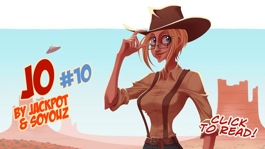 Jo #10 by Jackpot and Soyouz by Rafchu