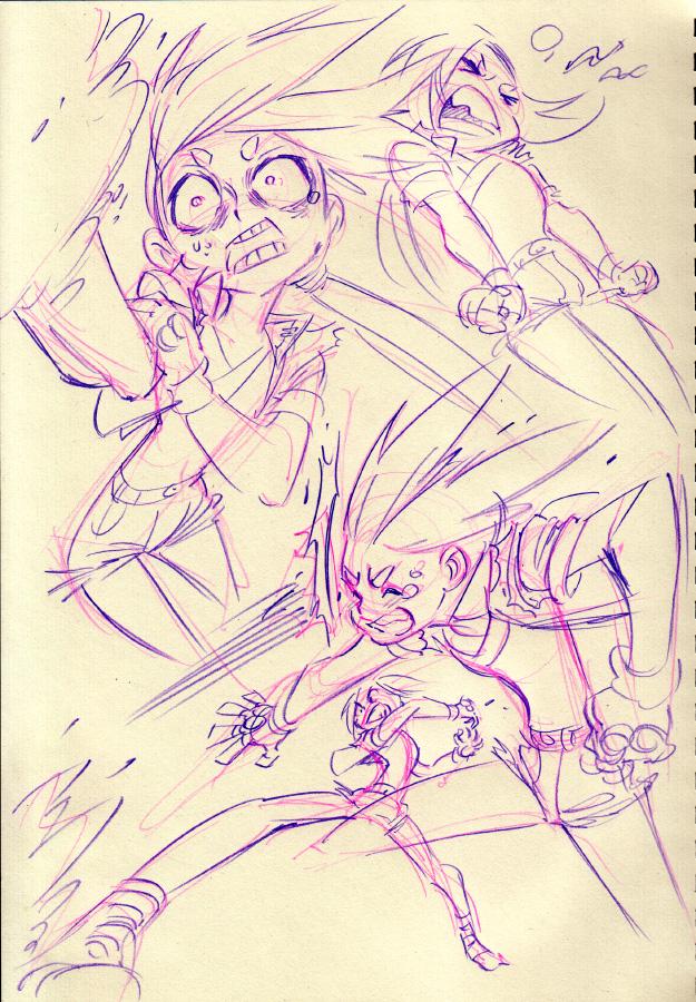 Console Girl #15 by Rafchu