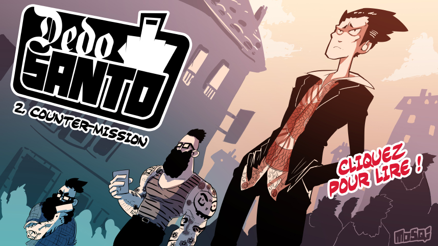New Dedo Santo episode on Spunch! by Rafchu