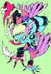 Monster girls challenge : Harpy