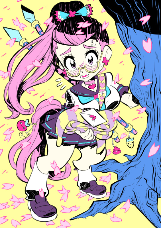 Monster girls challenge : Centaur by Rafchu