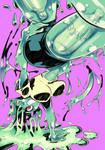 Monster girls challenge : Slime girl