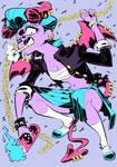 Monster girls challenge : Demon girl