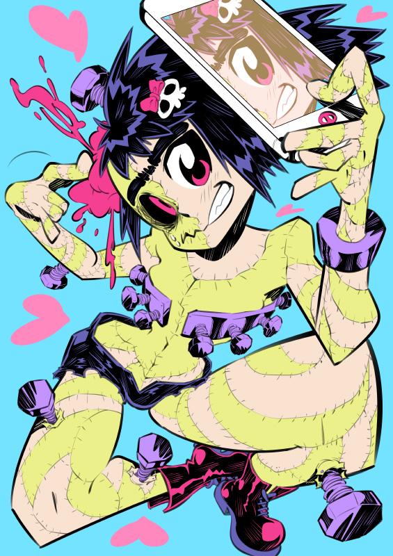 Monster girls challenge : True Monster by Rafchu