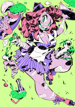 Monster girls challenge : Zombie