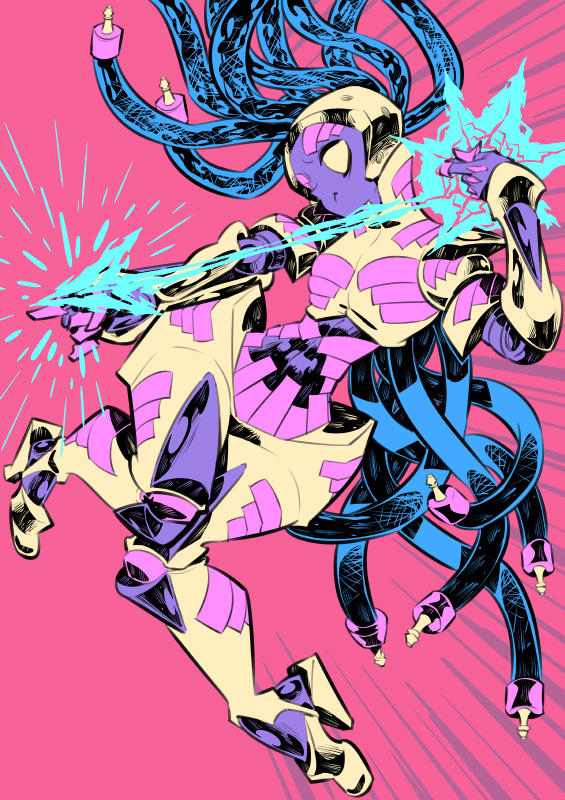 Monster girls challenge : Robot by Rafchu