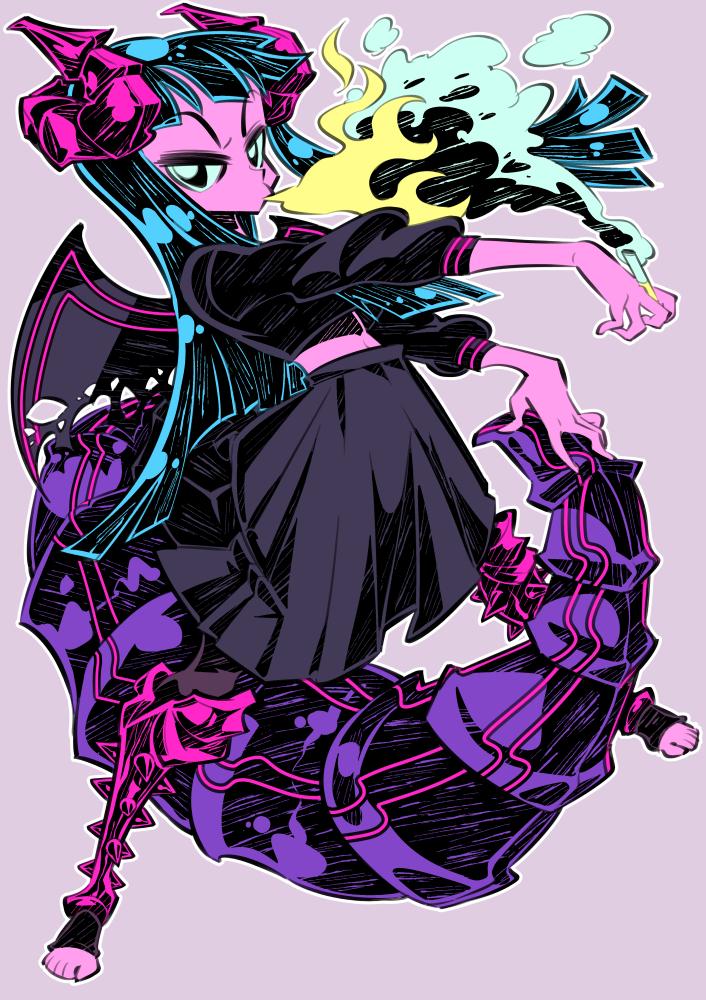 Monster girls challenge : Dragon Girl by Rafchu
