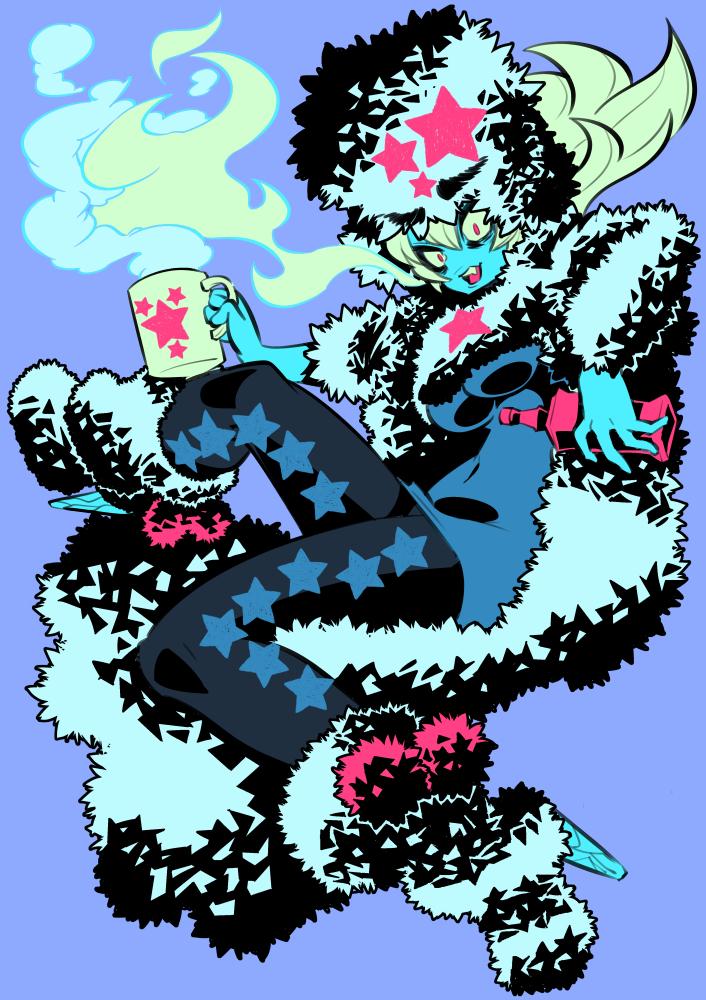 Monster girls challenge : Bigfoot by Rafchu