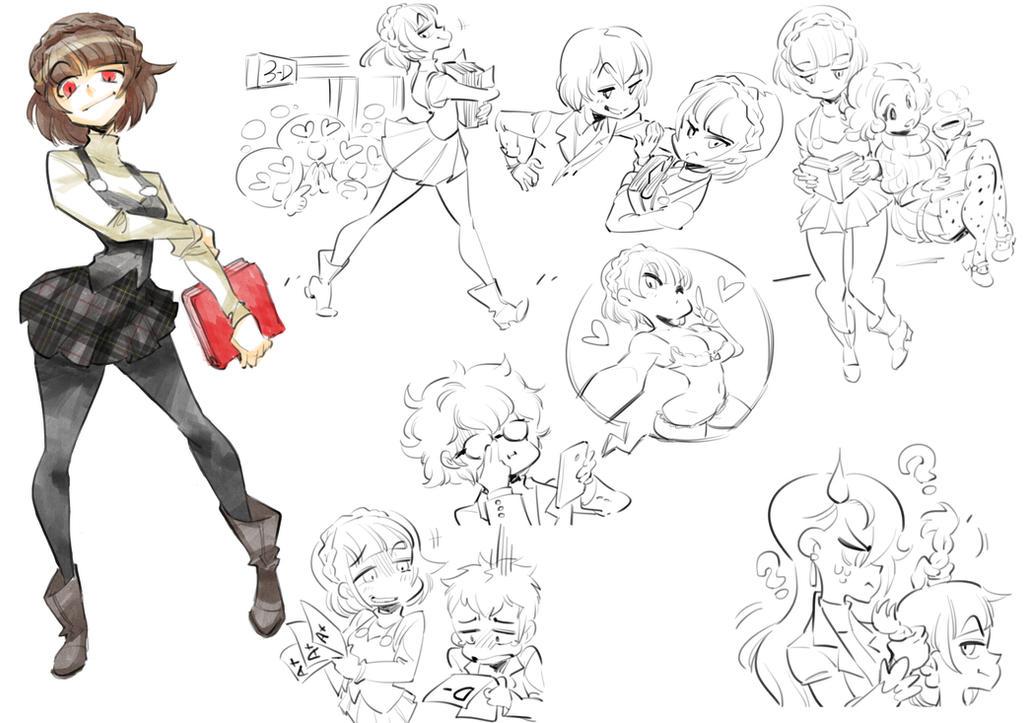Persona 5 : Makoto Niijima by Rafchu