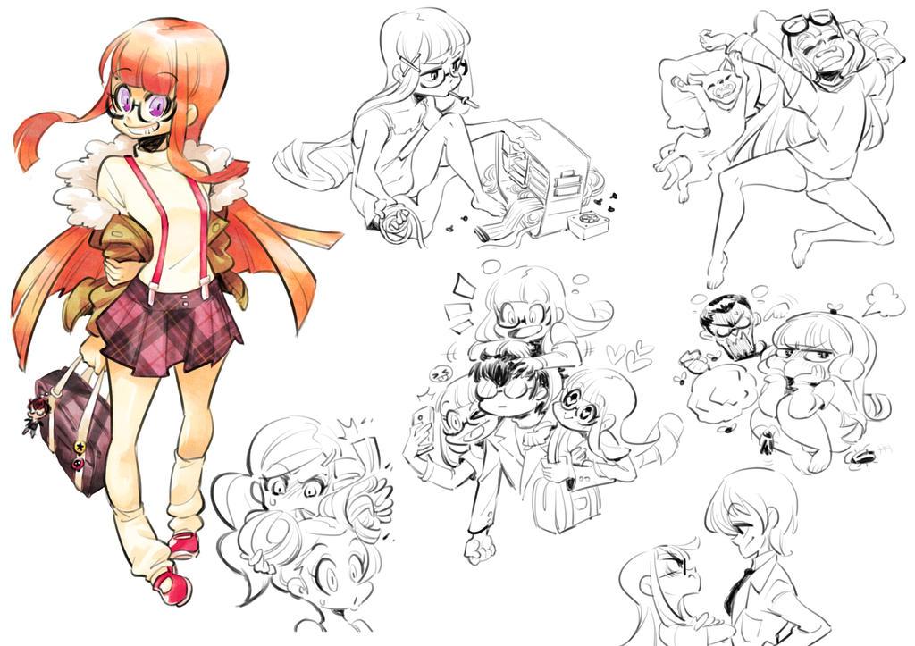 Persona 5 : Futaba Sakura by Rafchu