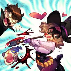 Persona 5 : Haru by Rafchu