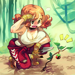 Persona 5 : Gardening Haru by Rafchu