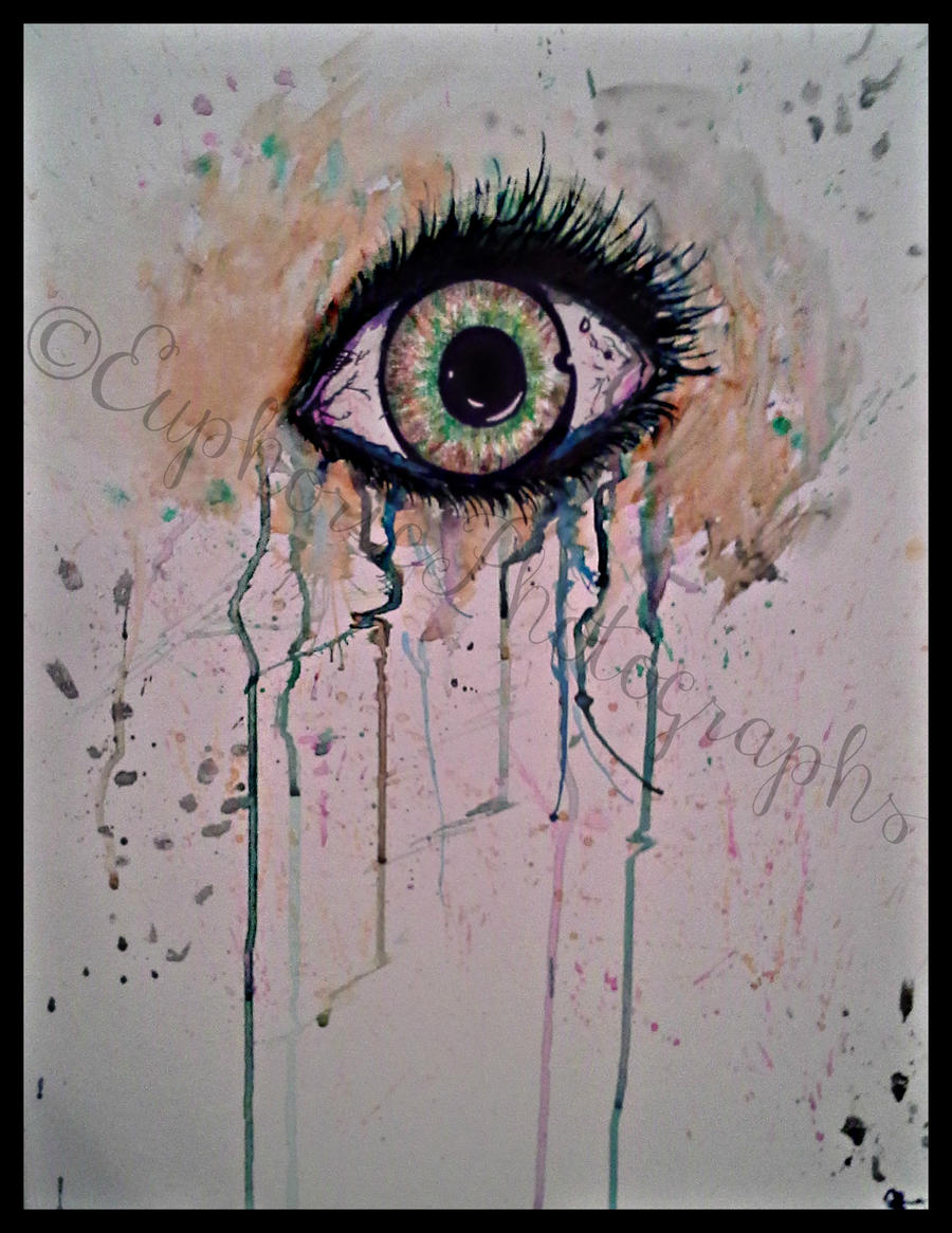 Eye Painting by EuphoricPhotographs