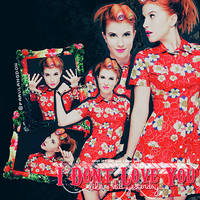 + I don't love you {Hayley Williams}