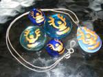Laputa pendants in the night
