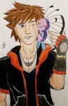 Sora and his Butterfree