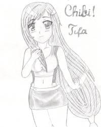Tifa Chibi x3 by kyosuke66