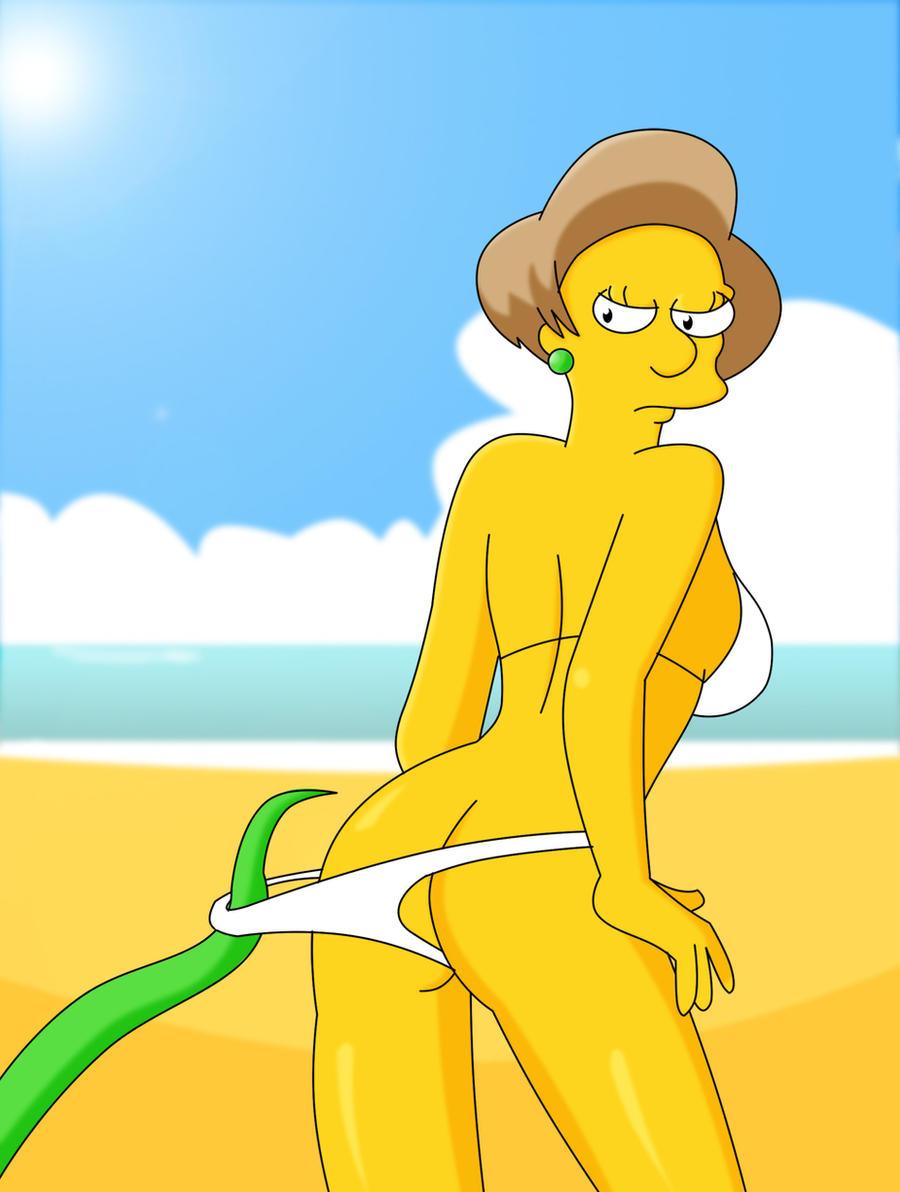 Симпсоны миссис крабапл порно 17 фотография