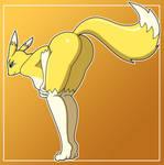 Renamon Booty by PervyAngel