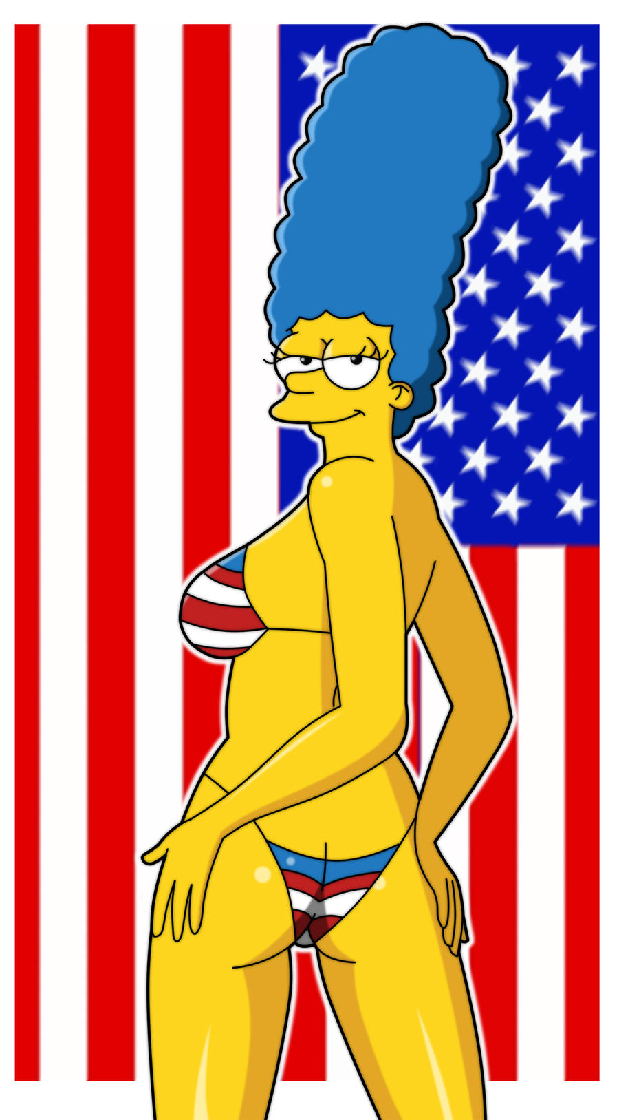 Marge USA by PervyAngel