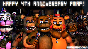 [SFM] Five Nights at Freddy's 4th Anniversary by InTheShadows-YT