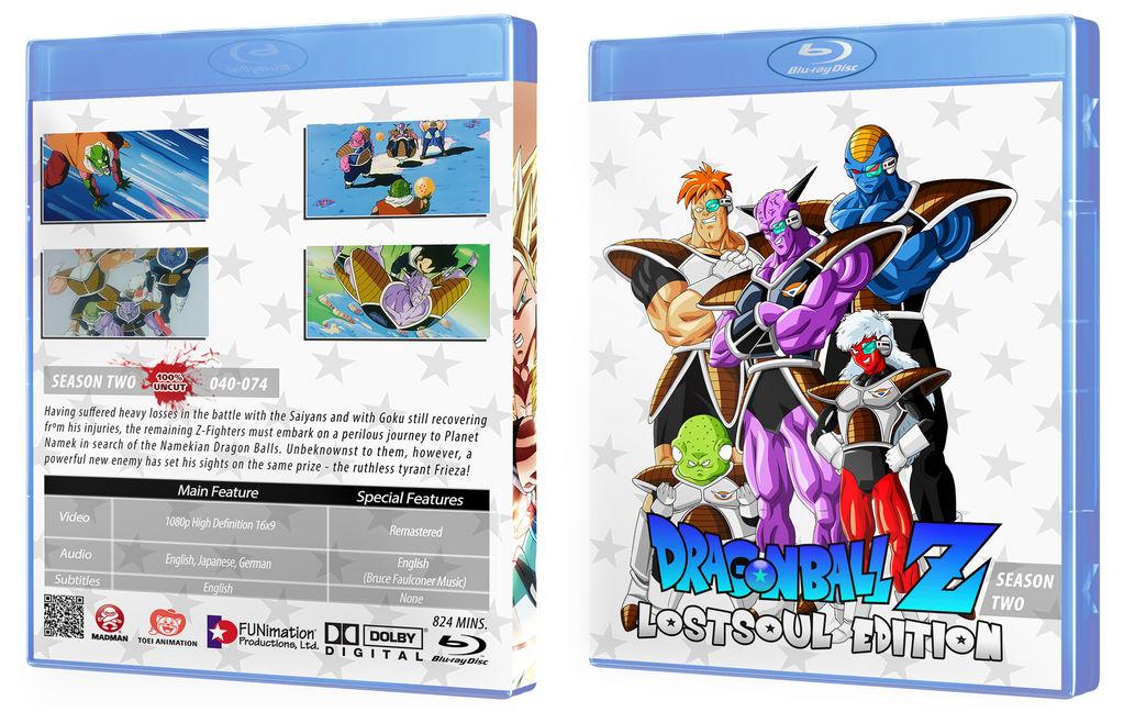 Dragon Ball Z - Season 2 Blu Ray Cover by LostSoulAT on DeviantArt