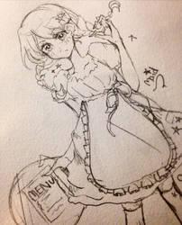 Maid/Waitress by Lasuchii