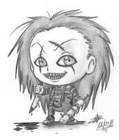 Chibi Chucky by art-ikaro