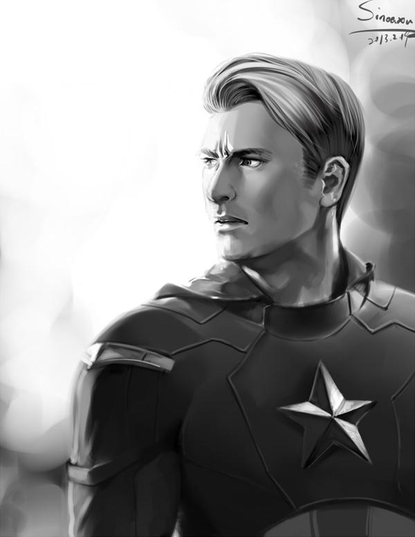 Captain America by sinoaXu