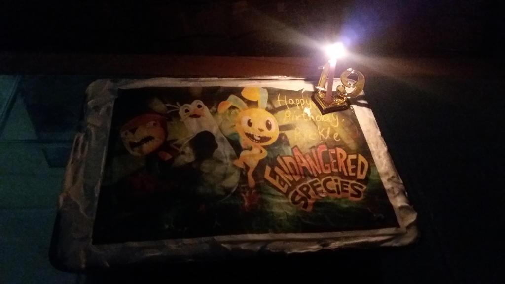 My Endangered Species Birthday Cake! by Zim-BringerOfDoom