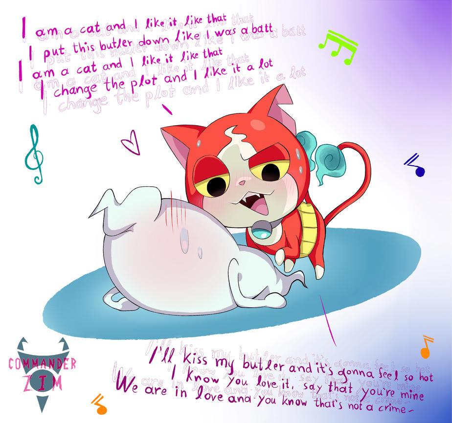 Whisper X Jibanyan- Love Song By Zim-BringerOfDoom On