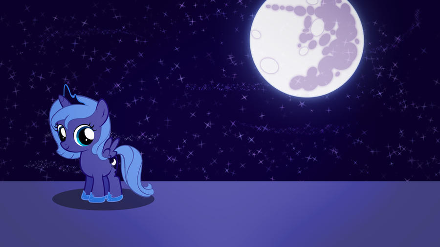 Woona at night wallpaper (not so) minimalistic by Nidrax
