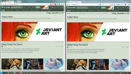 deviantART old logo FIX