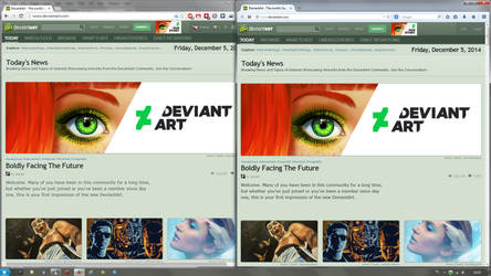 deviantART old topbar FIX