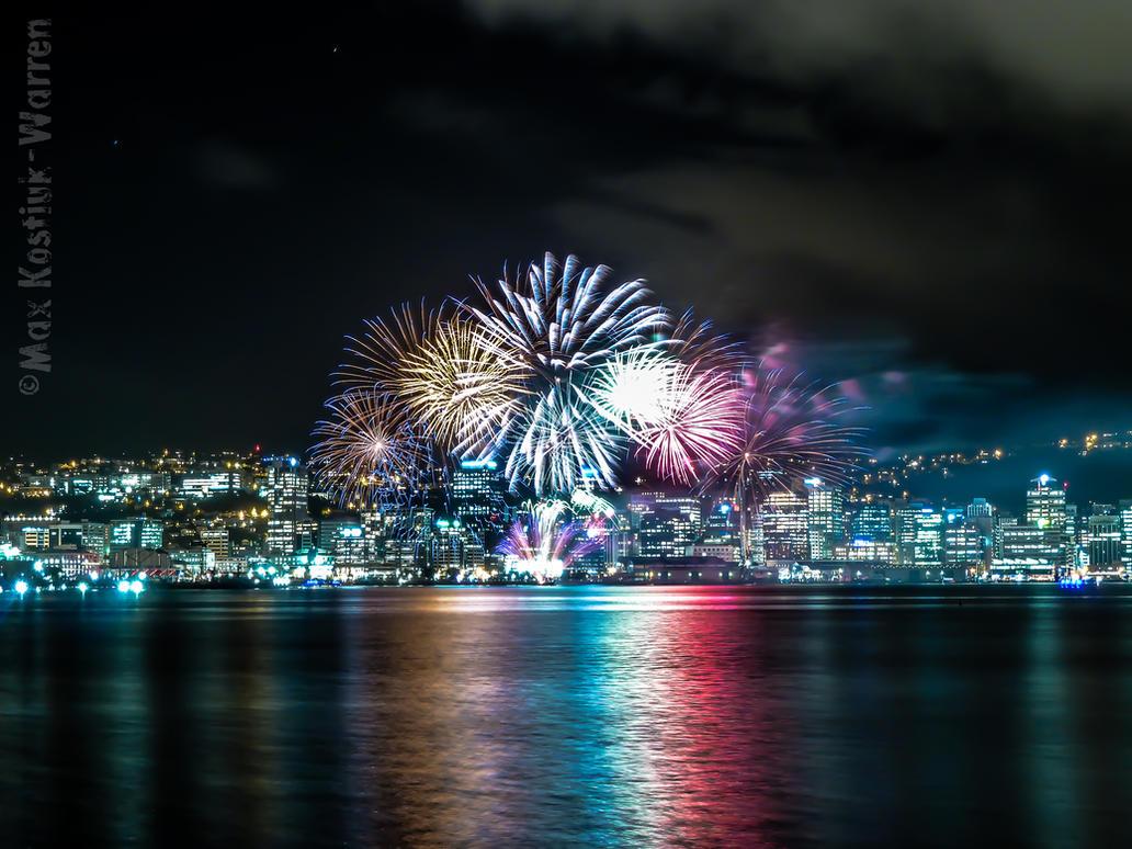 Wellington Fireworks by MaxK-W
